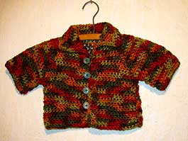 Fall Baby Sweater
